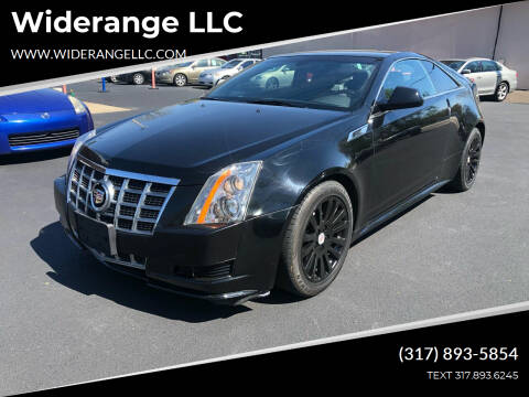 2013 Cadillac CTS for sale at Widerange LLC in Greenwood IN