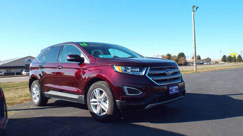 2018 Ford Edge for sale at G & K Supreme in Canton SD