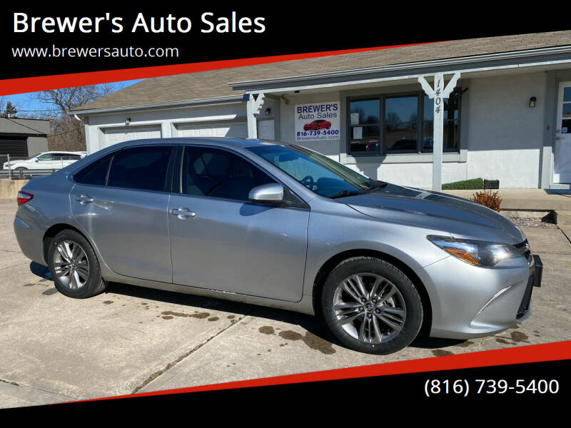 2015 Toyota Camry for sale at Brewer's Auto Sales in Greenwood MO