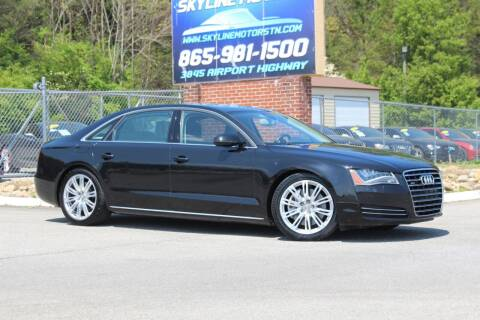 2011 Audi A8 L for sale at Skyline Motors in Louisville TN
