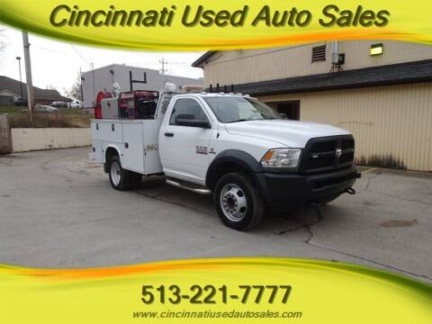 2014 RAM Ram Chassis 5500 for sale at Cincinnati Used Auto Sales in Cincinnati OH