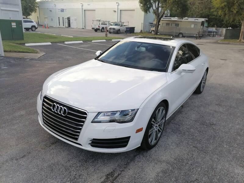 2014 Audi A7 for sale at Best Price Car Dealer in Hallandale Beach FL