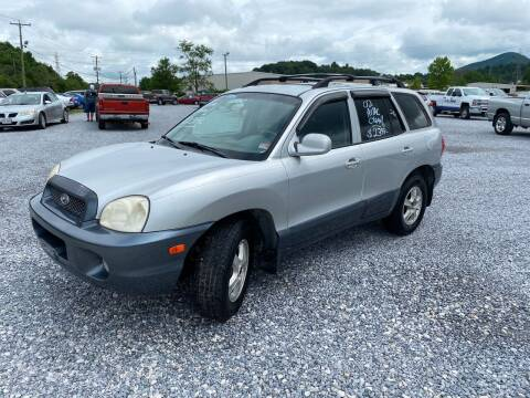 2003 Hyundai Santa Fe for sale at Bailey's Auto Sales in Cloverdale VA