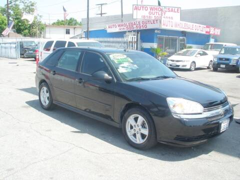 2004 Chevrolet Malibu Maxx for sale at AUTO WHOLESALE OUTLET in North Hollywood CA
