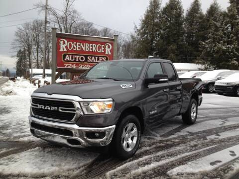 2019 RAM Ram Pickup 1500 for sale at Rosenberger Auto Sales LLC in Markleysburg PA