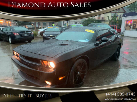 2013 Dodge Challenger for sale at Diamond Auto Sales in Milwaukee WI