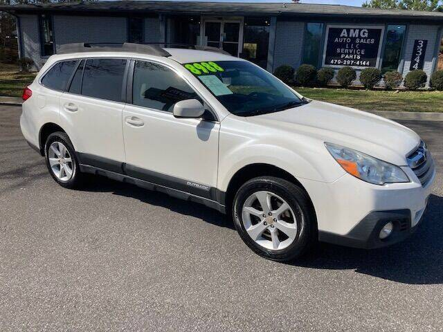 2013 Subaru Outback for sale at AMG Automotive Group in Cumming GA