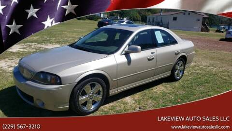 2006 Lincoln LS for sale at Lakeview Auto Sales LLC in Sycamore GA