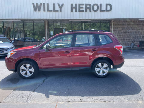 2016 Subaru Forester for sale at Willy Herold Automotive in Columbus GA