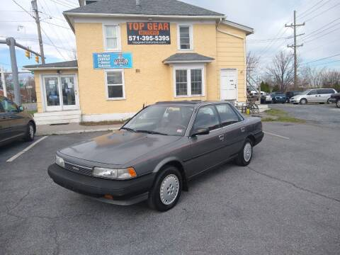 1989 Toyota Camry for sale at Top Gear Motors in Winchester VA