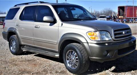 2003 Toyota Sequoia for sale at Advantage Auto Sales in Wichita Falls TX