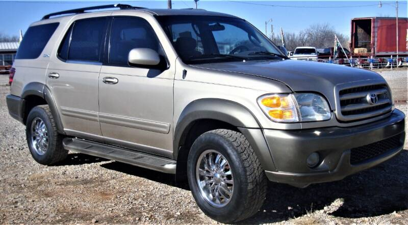2003 Toyota Sequoia for sale at Advantage Auto Sales in Wichita Falls TX