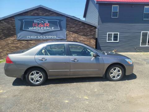 2006 Honda Accord for sale at Rick's R & R Wholesale, LLC in Lancaster OH