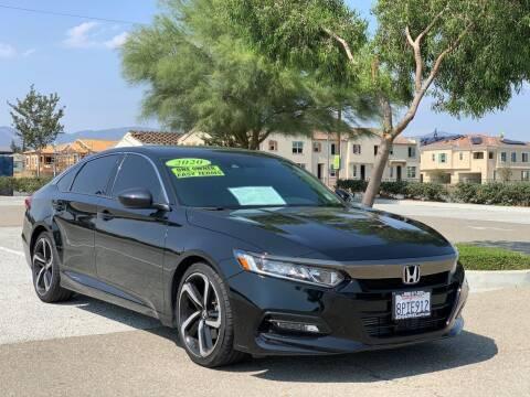 2020 Honda Accord for sale at Esquivel Auto Depot in Rialto CA