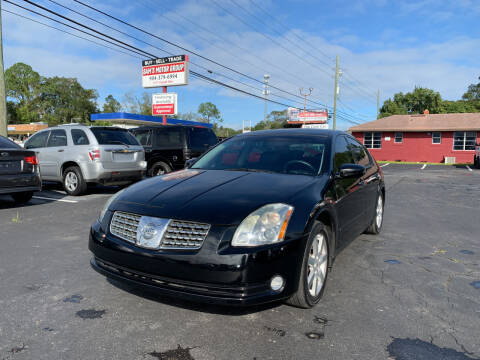 2006 Nissan Maxima for sale at Sam's Motor Group in Jacksonville FL