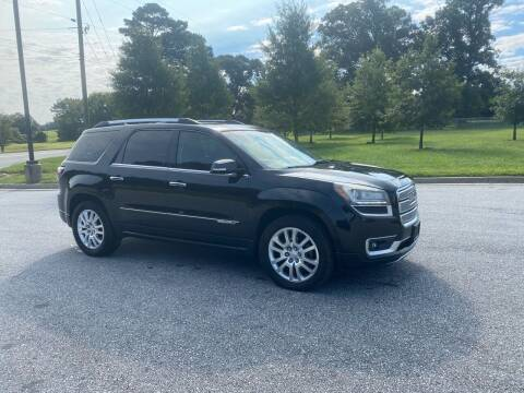 2015 GMC Acadia for sale at GTO United Auto Sales LLC in Lawrenceville GA