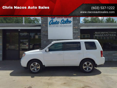 2015 Honda Pilot for sale at Chris Nacos Auto Sales in Derry NH