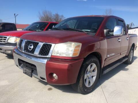 2005 Nissan Titan for sale at Wolff Auto Sales in Clarksville TN