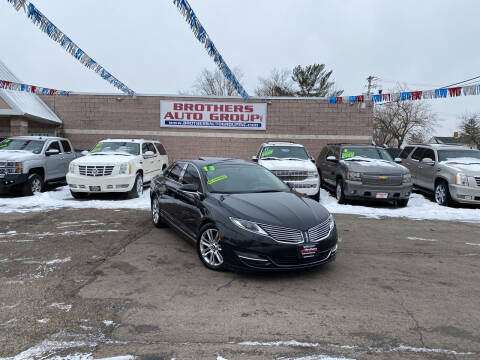 2013 Lincoln MKZ for sale at Brothers Auto Group in Youngstown OH
