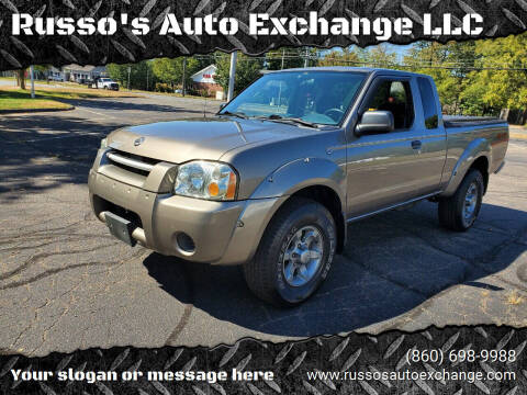 2003 Nissan Frontier for sale at Russo's Auto Exchange LLC in Enfield CT