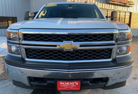 2014 Chevrolet Silverado 1500 for sale at NORM'S USED CARS INC - Trucks By Norm's in Wiscasset ME