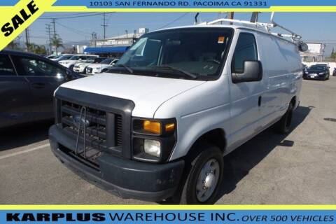 2008 Ford E-Series Cargo for sale at Karplus Warehouse in Pacoima CA