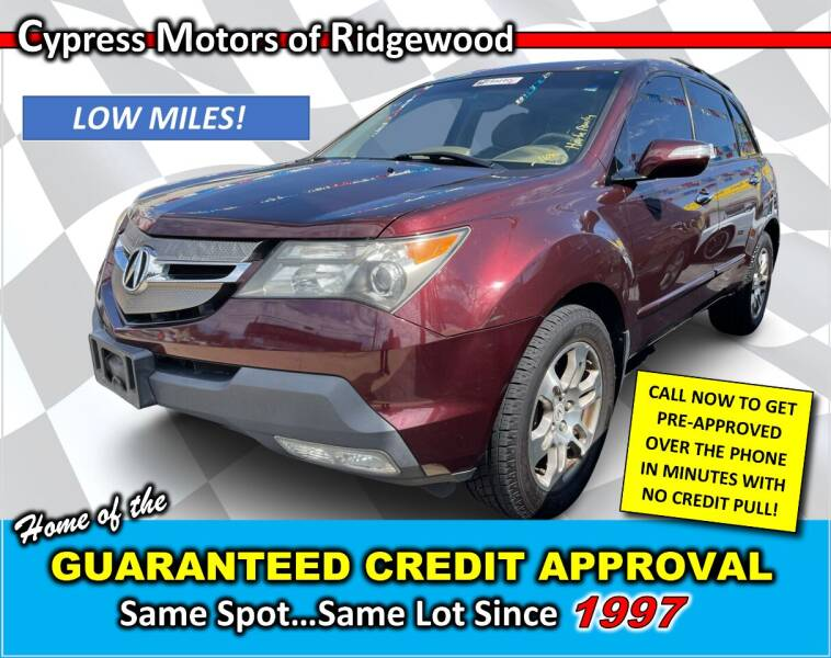 2007 Acura MDX for sale at Cypress Motors of Ridgewood in Ridgewood NY