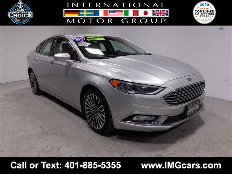 2017 Ford Fusion for sale at International Motor Group in Warwick RI