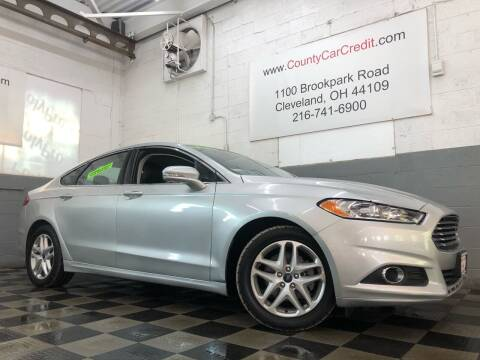 2016 Ford Fusion for sale at County Car Credit in Cleveland OH