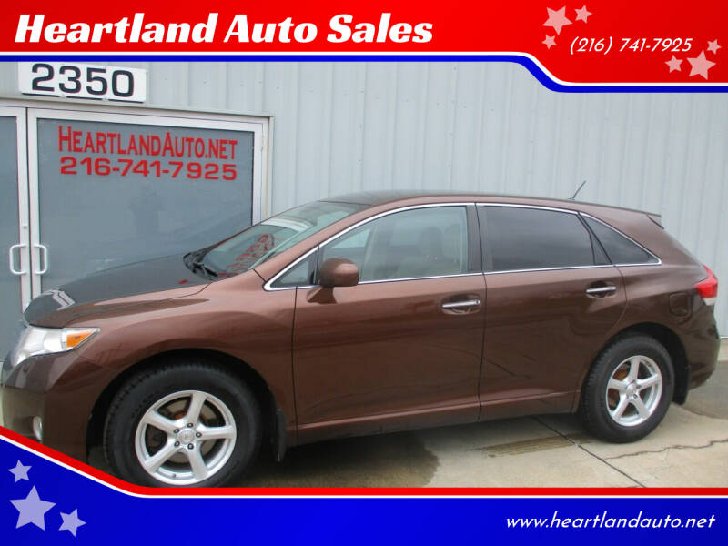 2009 Toyota Venza for sale at Heartland Auto Sales in Medina OH