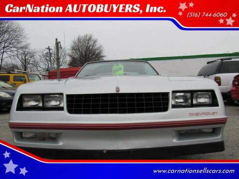 1988 Chevrolet Monte Carlo for sale at CarNation AUTOBUYERS Inc. in Rockville Centre NY