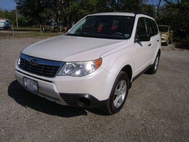 2010 Subaru Forester for sale at HALL OF FAME MOTORS in Rittman OH