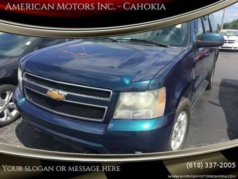 2007 Chevrolet Suburban for sale at American Motors Inc. - Cahokia in Cahokia IL