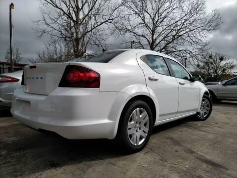 2013 Dodge Avenger for sale at SUNRISE AUTO SALES in Gainesville FL
