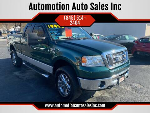 2008 Ford F-150 for sale at Automotion Auto Sales Inc in Kingston NY