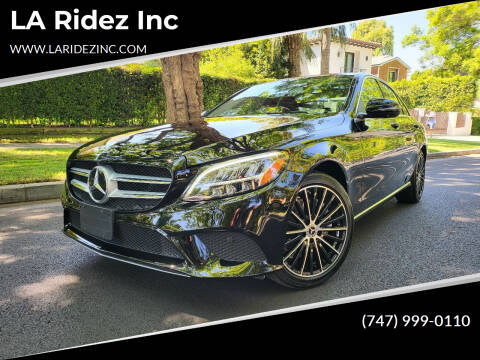 2019 Mercedes-Benz C-Class for sale at LA Ridez Inc in North Hollywood CA