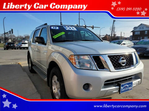 2010 Nissan Pathfinder for sale at Liberty Car Company in Waterloo IA