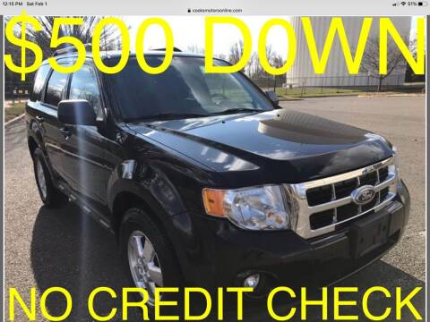 2011 Ford Escape for sale at Cooks Motors in Westampton NJ