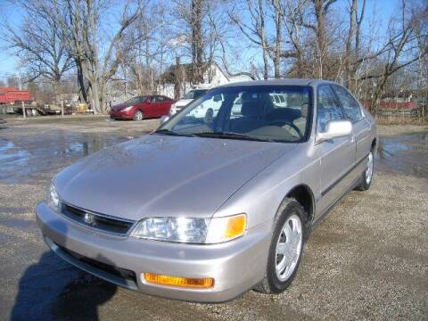 1996 Honda Accord for sale at HALL OF FAME MOTORS in Rittman OH