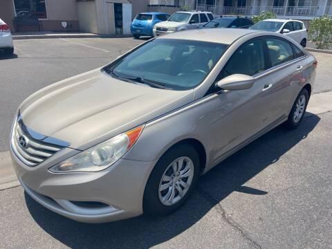 2011 Hyundai Sonata for sale at Boulevard Motors in Saint George UT