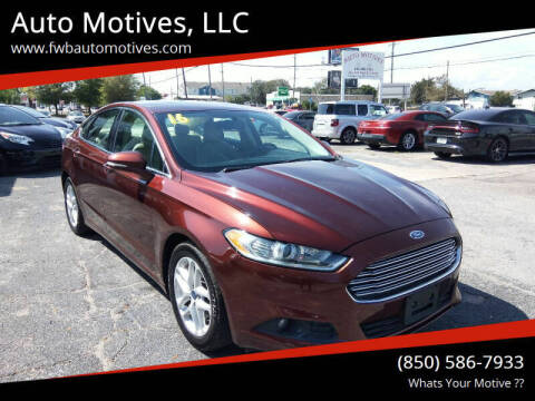 2016 Ford Fusion for sale at Auto Motives, LLC in Fort Walton Beach FL