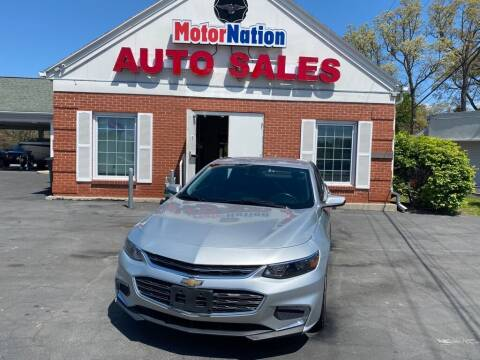 2016 Chevrolet Malibu for sale at Motornation Auto Sales in Toledo OH