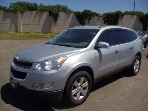 2010 Chevrolet Traverse for sale at Metro Motor Sales in Minneapolis MN