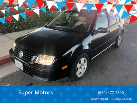 2002 Volkswagen Jetta for sale at Super Motors in San Mateo CA