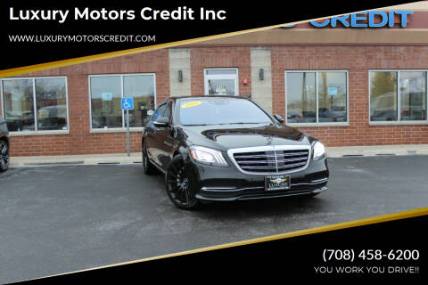 2018 Mercedes-Benz S-Class for sale at Luxury Motors Credit Inc in Bridgeview IL