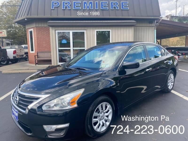 2014 Nissan Altima for sale at Premiere Auto Sales in Washington PA