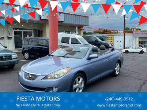 2006 Toyota Camry Solara for sale at FIESTA MOTORS in Hagerstown MD