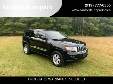 2012 Jeep Grand Cherokee for sale at Sanford Autopark in Sanford NC