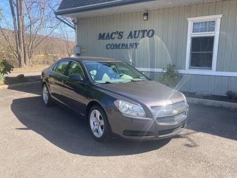 2011 Chevrolet Malibu for sale at MAC'S AUTO COMPANY in Nanticoke PA