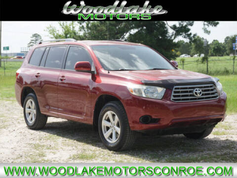 2008 Toyota Highlander for sale at WOODLAKE MOTORS in Conroe TX